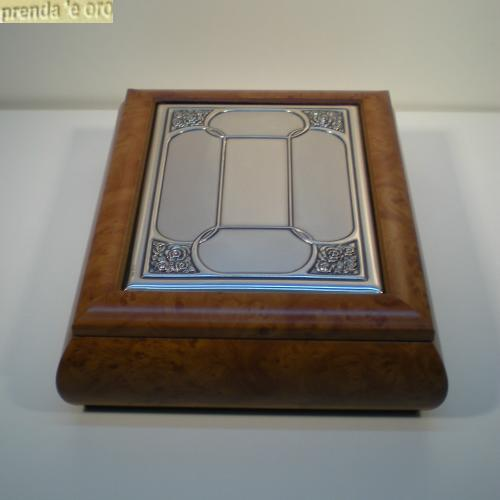 Portagioie argento 925 ricordi argenti corpo legno - Portagioie argento ...