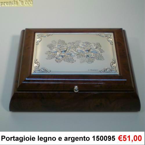 Portagioie radica argento gioielleria prenda e oro - Portagioie argento ...