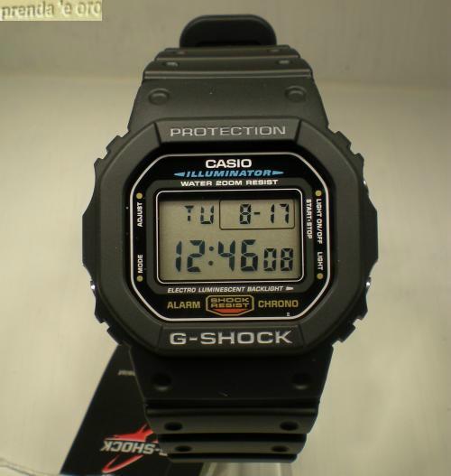 grandi affari sulla moda prezzo minimo design senza tempo OROLOGIO CASIO G-SHOCK DW-5600E-IVER CRONO TIMER SVEGLIA ...